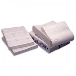 ELVE Paquet de 600 lettres de change en continu format 240x12. 3 poses par paravent