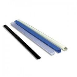 EXACOMPTA Boîte de 25 baguettes à relier manuelles SERODO 6mm noir