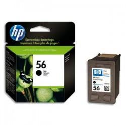 HP Cartouche jet d encre noire pr deskjet 5550 ref n° 56/C6656AE