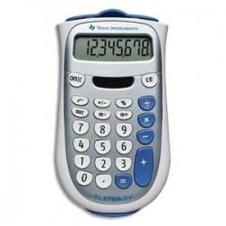TEXAS INSTRUMENTS Calculatrice 8 chiffres TI 706SV alimentation mixte/couvercle de protection