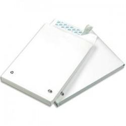 GPV paquet de 50 pochettes kraft blanc auto-adhésif, format C4 229x324mm soufflet 30mm120g
