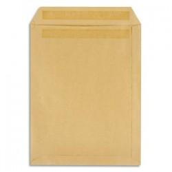 5 ETOILES Boîte de 250 pochettes kraft brun 90g 24 260x330 mm autocollantes