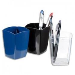 5 ETOILES Pot à crayons en polystyrène - D7,5 cm, hauteur 10,5 cm coloris cristal