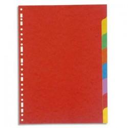 5 ETOILES Jeu d'intercalaires 8 positions en carte lustrée supérieure 220g, 3/10e. Format A4.