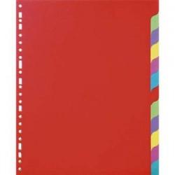 5 ETOILES Jeu d'intercalaires 12 positions en carte lustrée supérieure 220g, 3/10e. Format A4.
