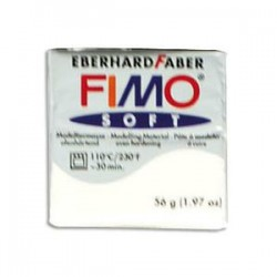 DTM PATE FIMO SOFT 57G BLANC 261402