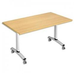 STB TABLE RECT 140X80 HE/ALU HV3-148HA