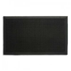 PAPERFLOW Tapis picots en caoutchouc, bords biseautés. Dim. 60 x 80 cm