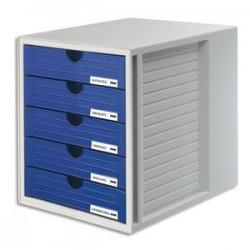 HAN MODUL 5TIROIR SYSTEMBOX GR/BL 145014