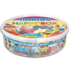 HBO BTE 600G HAPPY BOX HARIBO AS 8016633