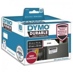 DYM P/800 ETIQ DUR 57X32MM N/BLC 1933084