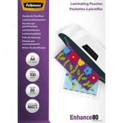FEL B/100 POCH PLAS A4 MAT 80MIC 5452103