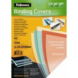 FEL P/100 COUV A4 PVC 240MIC TRS 53762