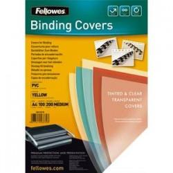 FEL P/100 COUV PVC 200MIC A4 JN 5377001