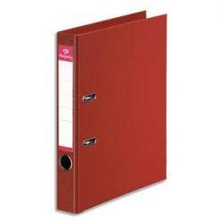 PERGAMY Classeur à levier en polypropylène intérieur/extérieur. Dos 5cm. Format A4. Coloris rouge