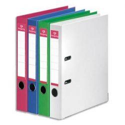 PERGAMY Classeur à levier en polypropylène intérieur/extérieur. Dos 5cm. Format A4. Coloris assorti mode