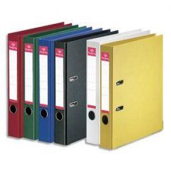PERGAMY Classeur à levier en polypropylène intérieur/extérieur. Dos 5cm. Format A4. Coloris assorti standard