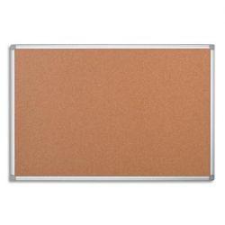 PERGAMY Tableau en liège, cadre aluminium, Format L120 x H90 cm