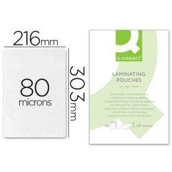 BTE DE 100 POCHETTES A4 80 MICRONS