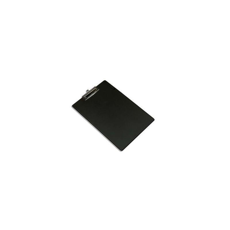 PERGAMY Porte Bloc Plaque en PVC pour documents format A4+, Bleu - Dimensions L23,5xH34cm