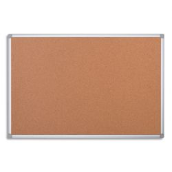 PERGAMY Tableau en liège, cadre aluminium, Format L180 x H90 cm