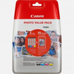 Canon CLI-571XL C/M/Y/BK + Photo pack