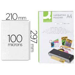 Boite de 100 pochettes de plastification A4 100 microns