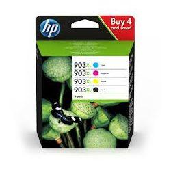 HP Pack de 4 couleurs jet d'encre 903XL 3HZ51AE