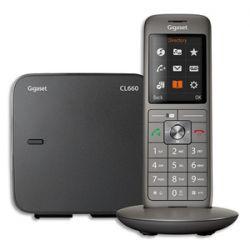 GIGASET Téléphone CL660 SOLO S38852-H2804-N101