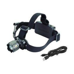 Lampe frontale cat lights rechargeable à piles 380 lumens avec faisceau concentré