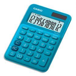 CASIO Calculatrice de bureau 12 chiffres Bleue MS-20UC-BU-S-EC