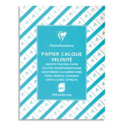 CLAIREFONTAINE Rouleau de papier calque satin 45g, format 0,37x20m