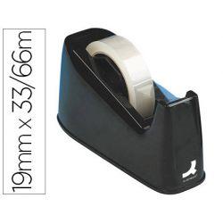 Dévidoir q-connect mixte économique rectangulaire ruban adhésif 19mmx33m ou 19mmx66m