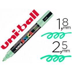 Marqueur posca pc5m gouache encre inodore toutes surfaces pointe moyenne conique couleur opaque couvrante vert clair