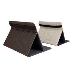 """Support urban universel tablette 7/8"""" élastique fermeture sécurisée extérieur rubber micro-ventouses sans trace noir"""