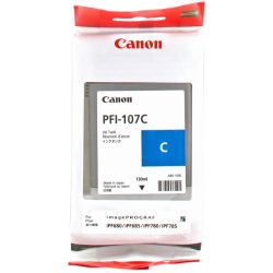 CANON PFI-107C cartouche d encre cyan capacité standard 130ml pack de 1