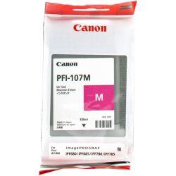 CANON PFI-107M cartouche d encre magenta capacité standard 130ml pack de 1