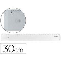 Règle q-connect 30cm plate marquage bords anti-tâches haute qualité résistance optimale