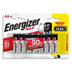 ENERGIZER Blister de 12 piles AA LR06 max 7638900426625
