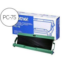 Kit cartouche brother fax transfert thermique pc75 144p