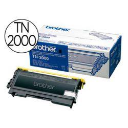 Toner laser brother tn2000 couleur noir 2500p
