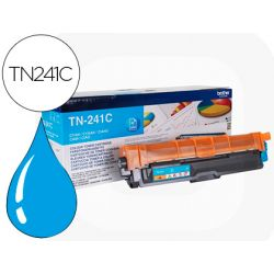 Toner laser brother TN241C couleur cyan 1400p