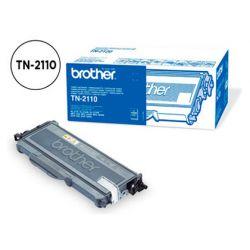 Toner laser brother TN2110 couleur noir 1500p