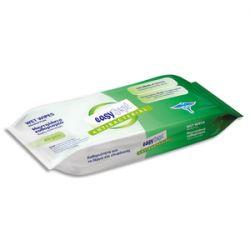 Paquet de 40 lingettes imbibées désinfectantes