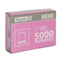 RAPID Agrafes BéBé (8/4) en boîte de 5000