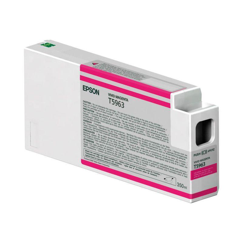EPSON T5963 cartouche de encre magenta vif capacité standard 350ml pack de 1