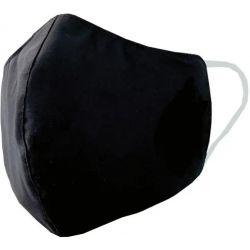 EPI Masque tissu triple épaisseur, déperlant, 30 lavages, sous emballage individuel et stérilisé. Noir