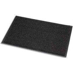 PAPERFLOW Tapis d'accueil en microfibre et PP. Coloris Gris. Dim. 90 x 150 cm, épaisseur 8 mm