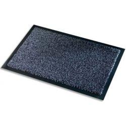 PAPERFLOW Tapis d'accueil intérieur Premium, en polyamide. Coloris Gris. Dim 90 x 150 cm, épaisseur 10 mm