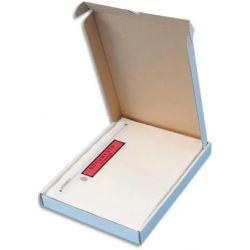 Boîte de 100 Pochettes d'expédition document ci-inclus - Format C5 : 225 x 165 mm transparent